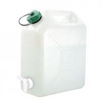 Jerrican alimentaire plastique 10L avec robinet