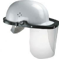 Écran facial de protection à monter sur casque de chantier